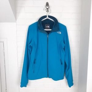 {The North Face} Fuzzy Fleece Lined Zip Up Jacket